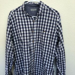 Ted Baker of London Button Down Shirt Blue